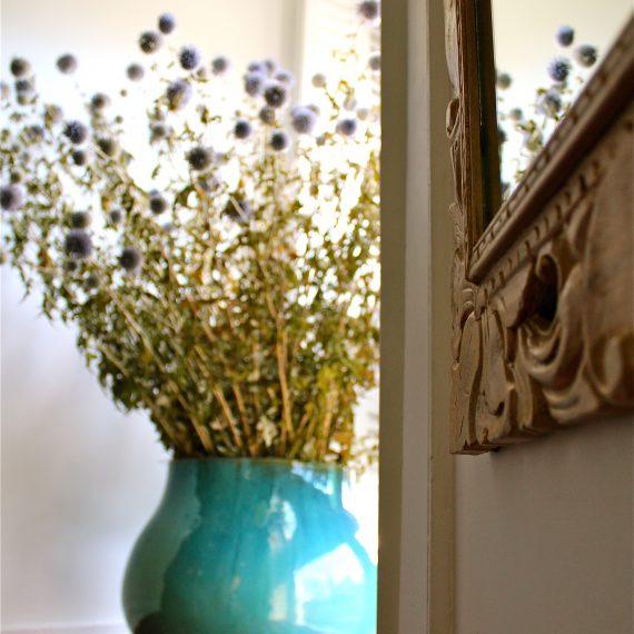 Photo d'ambiance fleurs séchées