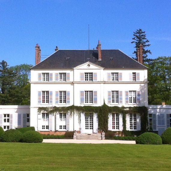 facade chateau du bois de lune